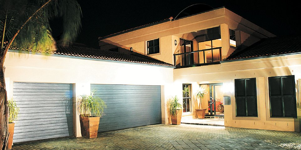 double garage door