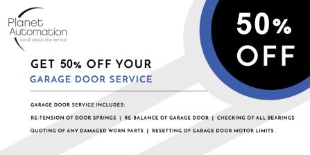 Garage Door Service Special