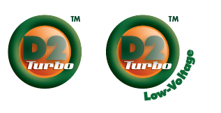 D2 Turbo and D2 Turbo Low Voltage Logo