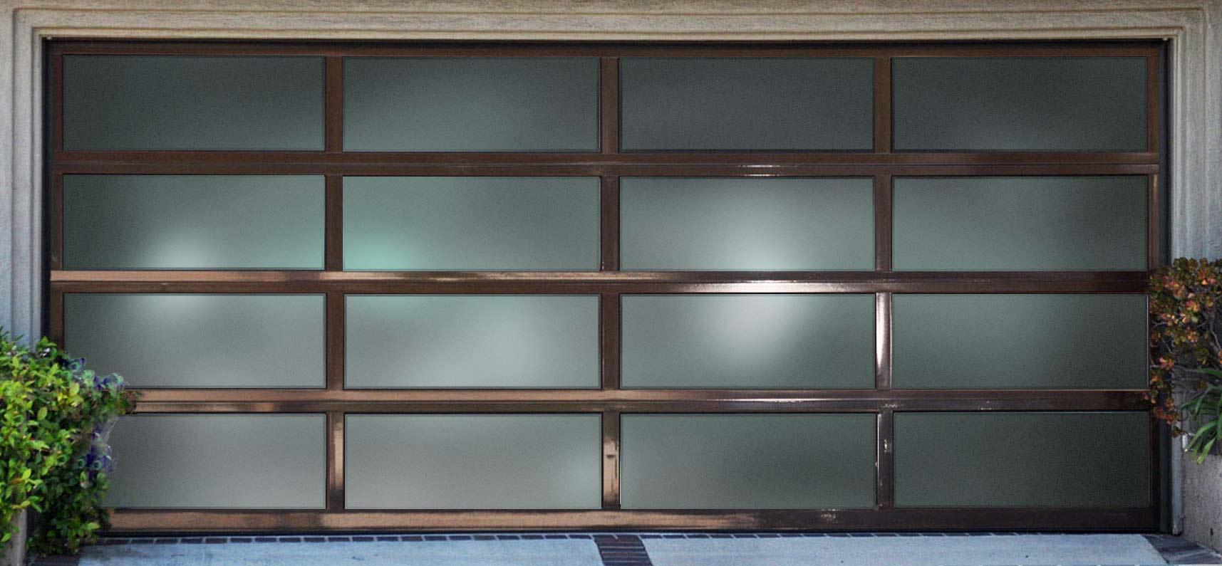 Bronze Secure View Aluminum Door