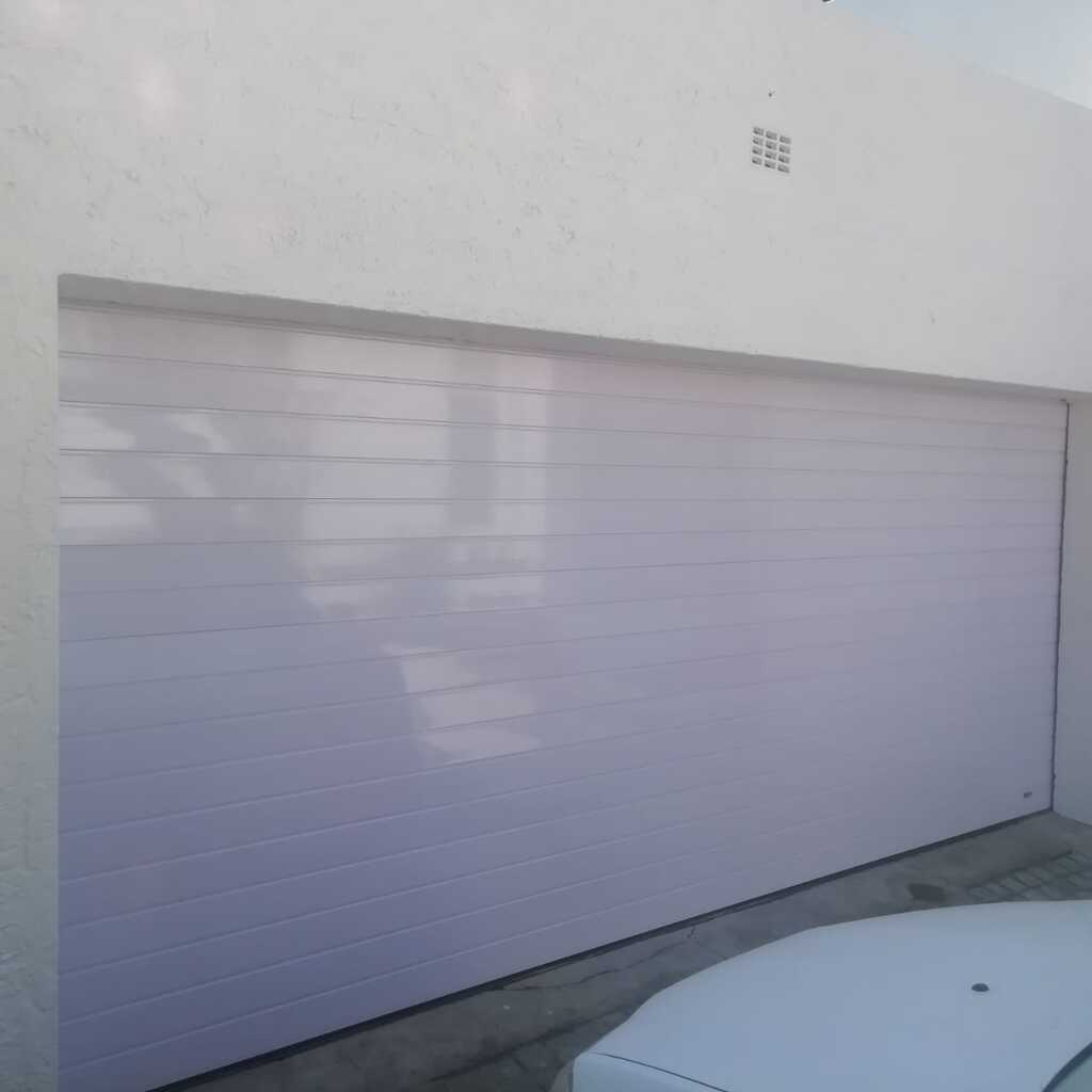 White Aluminium Double Door